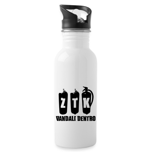 ZTK Vandali Dentro Morphing 1 - Water bottle with straw