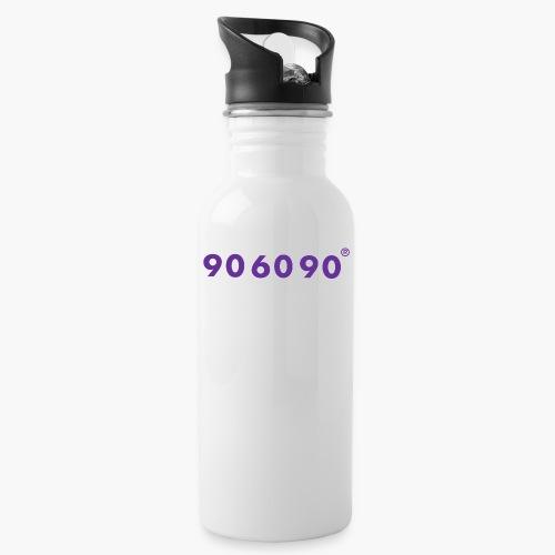 906090 - Trinkflasche mit integriertem Trinkhalm