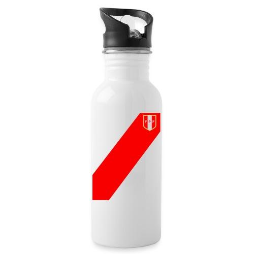 Seleccion peruana de futbol - Water bottle with straw
