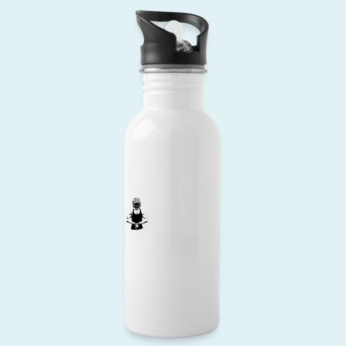 Mxbvrider Snapback - Trinkflasche mit integriertem Trinkhalm