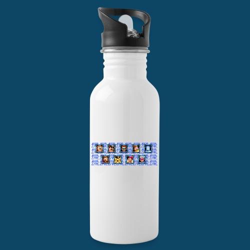 Benzaie LIVE - MUG - Gourde avec paille intégrée