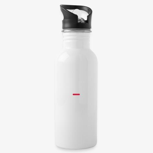 deplogo1neg red - Drikkeflaske med integrert sugerør