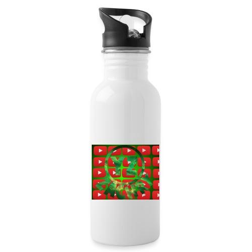 YZ-Muismatjee - Drinkfles met geïntegreerd rietje