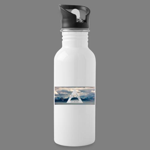 g5046 - Trinkflasche mit integriertem Trinkhalm