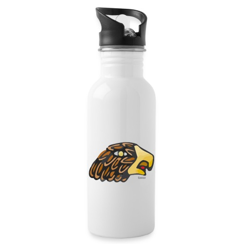 Aztec Icon Eagle - Water bottle with straw