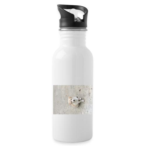 Dogg - Trinkflasche mit integriertem Trinkhalm