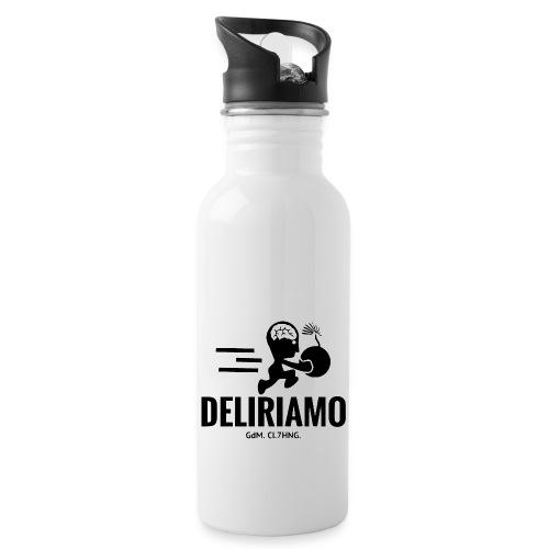 DELIRIAMO CLOTHING BRAINBOMB - Borraccia con cannuccia integrata