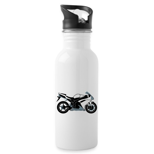 R1 07-on V2 - Water bottle with straw