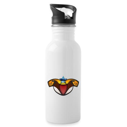 TeamLevelUP - Drikkeflaske med integreret sugerør