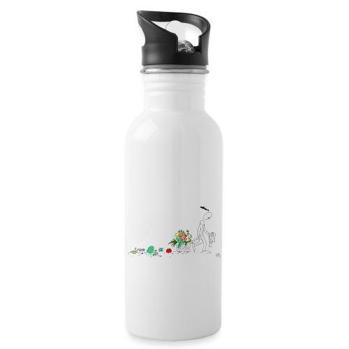 frukt og grønt handleveske - Drikkeflaske med integrert sugerør