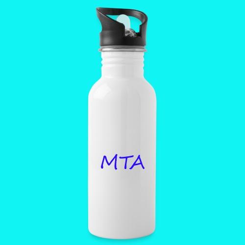#MTA t-shirts - Drikkeflaske med integreret sugerør