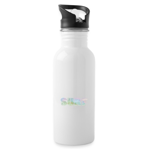 Surf summer beach T-shirt - Water bottle with straw