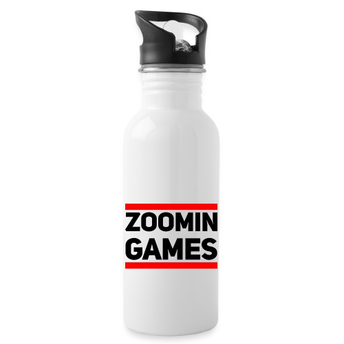 9815 2CRUN ZG - Water bottle with straw