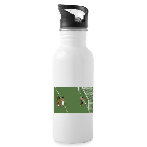 Backheel goal BG - Water bottle with straw