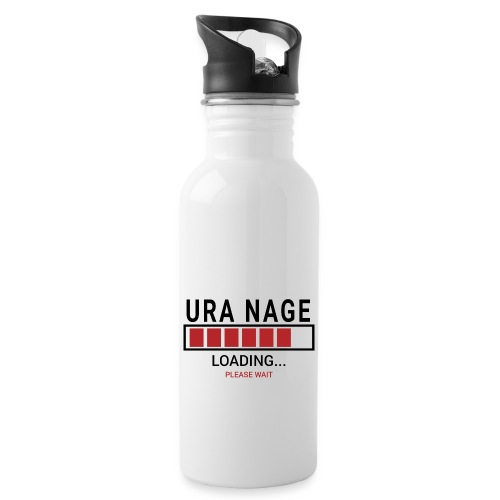 Uranaga Loading... Pleas Wait - Bidon z wbudowaną słomką