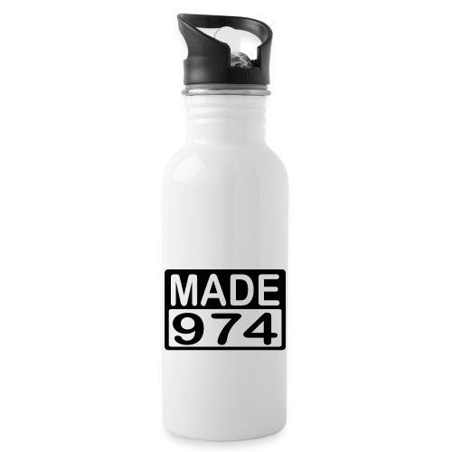 Made 974 - v2 - Gourde avec paille intégrée
