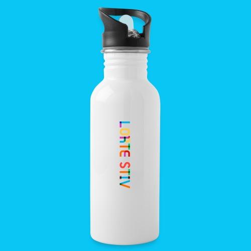 Lorte Stiv - Drikkeflaske med integreret sugerør