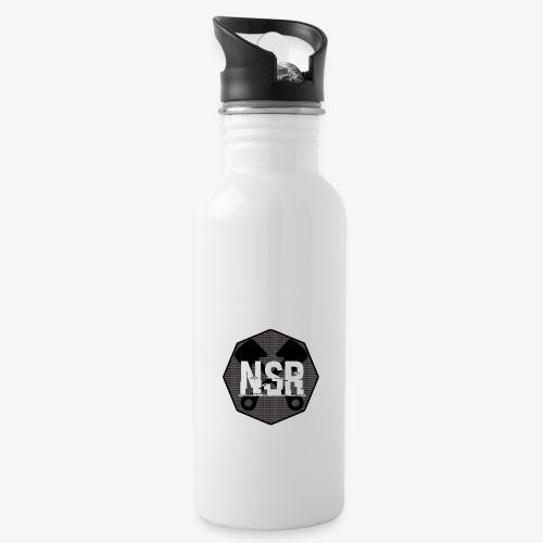 NSR B/W - Juomapullo, jossa pilli