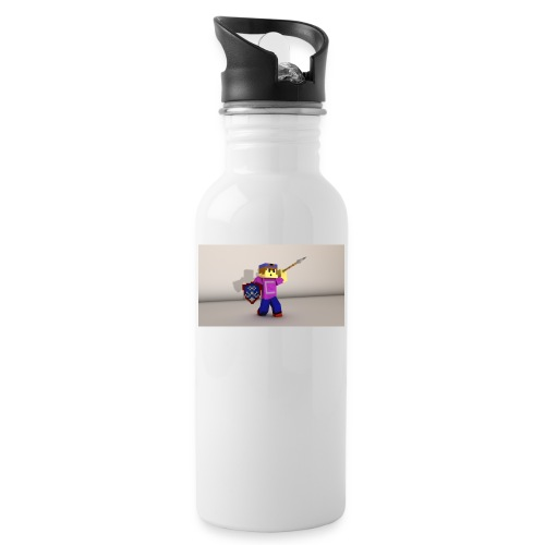 candormy Kieran png - Water bottle with straw