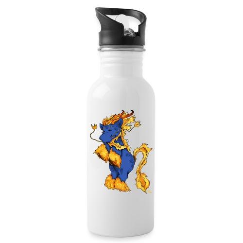 Quilin / Kirin - Trinkflasche mit integriertem Trinkhalm