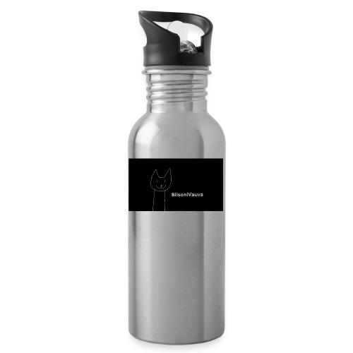 biisonivauva - Juomapullo, jossa pilli