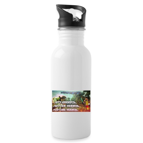 StickerV1 png - Water bottle with straw