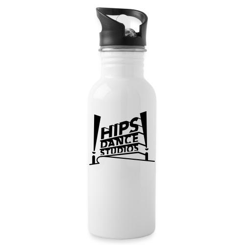 Hips_century - Drikkeflaske med integreret sugerør
