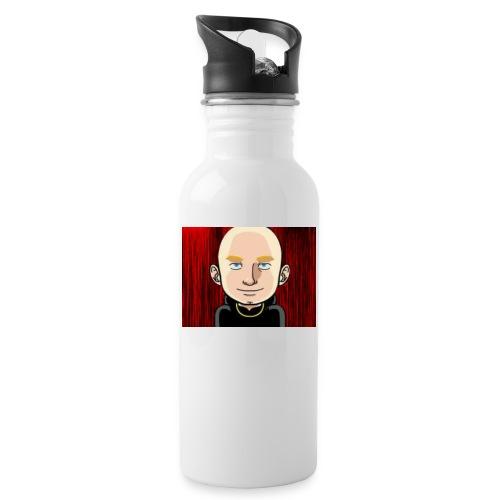 Cool and easy - Trinkflasche mit integriertem Trinkhalm