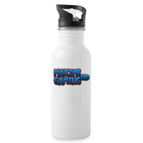 Maxime Gaming HD - Water bottle with straw