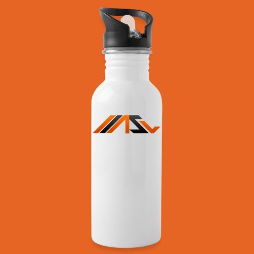 ASV New Look - Trinkflasche mit integriertem Trinkhalm