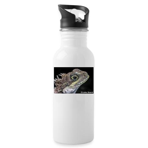 Lizard Eye - Water bottle with straw