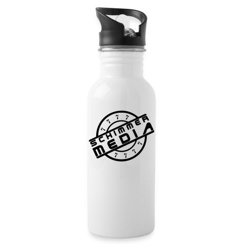Seven-Shirt - Trinkflasche mit integriertem Trinkhalm