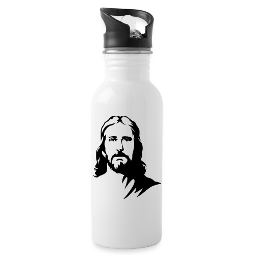jesus - Borraccia con cannuccia integrata