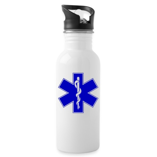 2000px Star of life2 svg png - Borraccia con cannuccia integrata