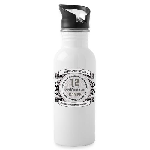 logo 2 png - Trinkflasche mit integriertem Trinkhalm