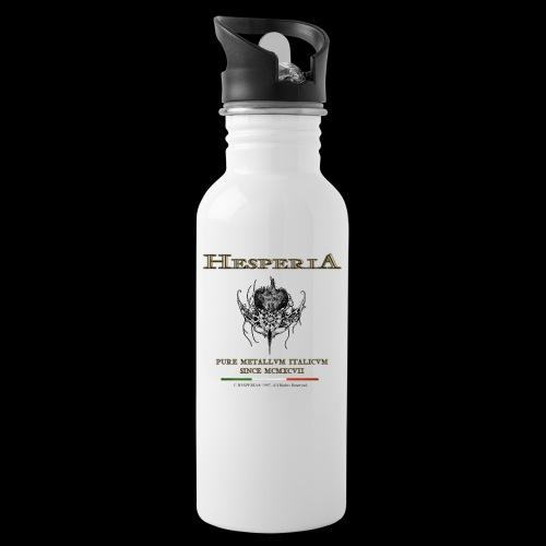 Hesperia - Pure Metallvm Italicvm - Water bottle with straw