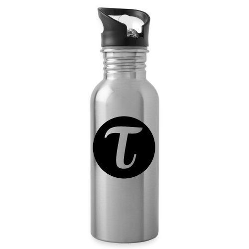 Tau logo iso inv vaate musta png - Juomapullo, jossa pilli