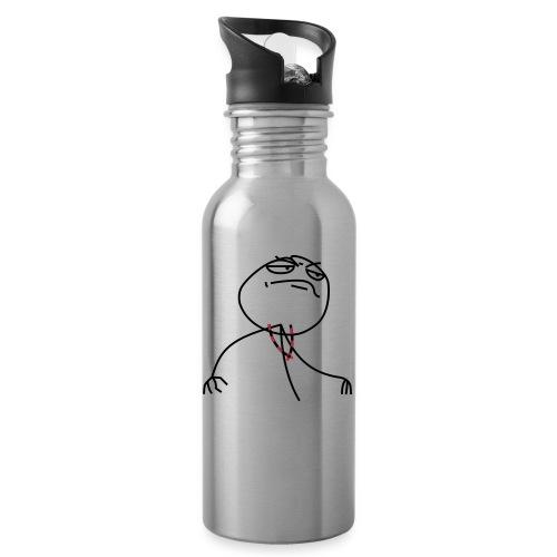 Proudscout - Trinkflasche mit integriertem Trinkhalm
