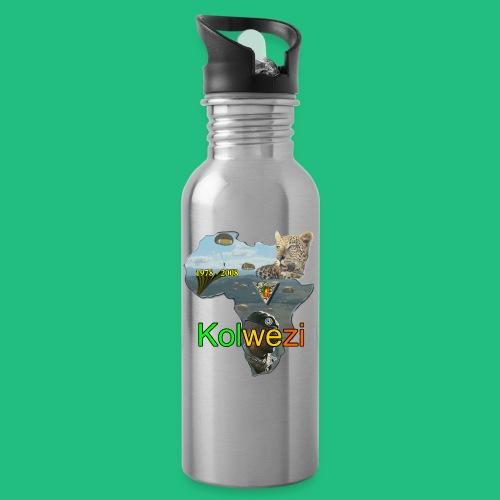 KOLWEZI 2REP - Gourde avec paille intégrée