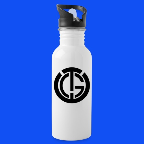 LogoTGE png - Water bottle with straw