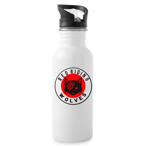RRW - Water bottle with straw