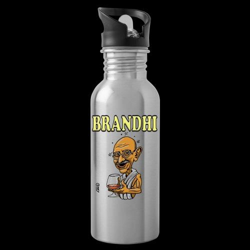 Brandhi - Water bottle with straw