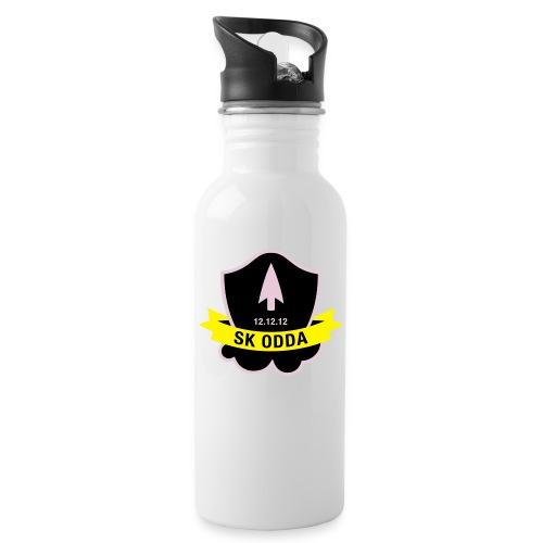 logoskoddanic5 kopi - Drikkeflaske med integrert sugerør