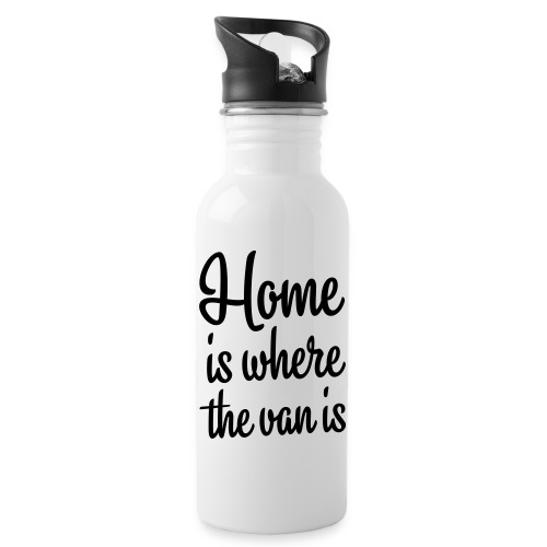 Home is where the van is - Autonaut.com - Water bottle with straw