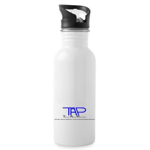 TAPLogoItem blue - Water bottle with straw