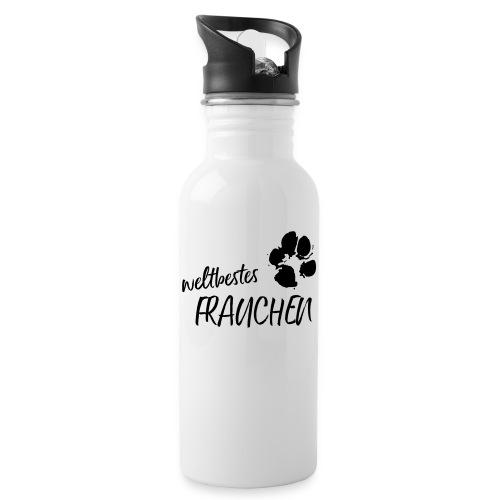 Vorschau: weltbestes Frauchen Pfote Hund - Trinkflasche