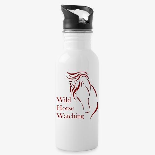 Logo Aveto Wild Horses - Borraccia con cannuccia integrata