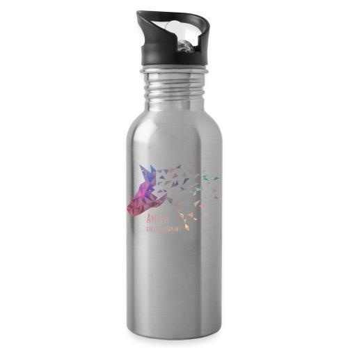 AnitaGirlietainmentGalaxy - Trinkflasche mit integriertem Trinkhalm