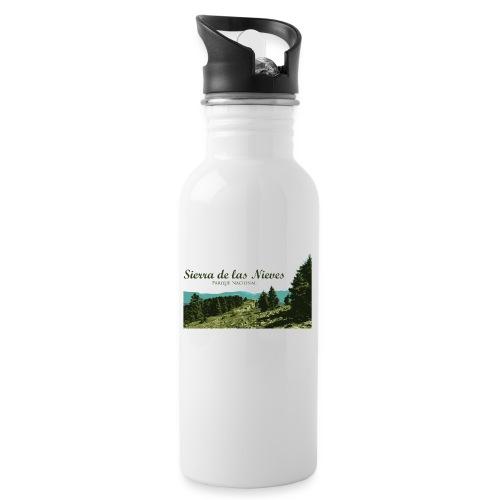 Sierra de las Nieves Parque Nacional - Botella cantimplora con pajita integrada