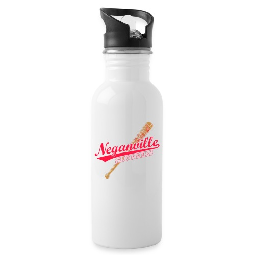 Neganville Sluggers - Water bottle with straw